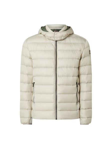 Biała kurtka z kapturem Colmar Originals