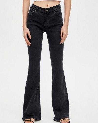 2e25ca5e8f3 Женские черные широкие джинсы - купить в интернет-магазине - Shopsy