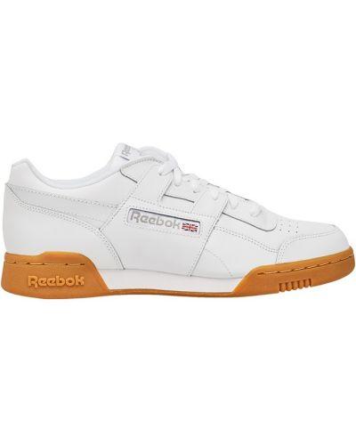 Кожаные кроссовки с вышивкой с перфорацией Reebok