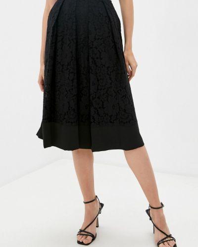 Черная юбка свободного кроя Trussardi Collection