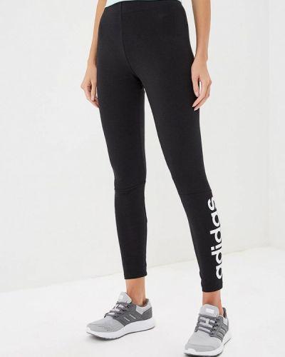 Черные леггинсы Adidas