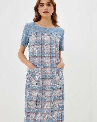 Платье прямое осеннее Helmidge