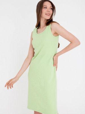 Зеленое весеннее платье Gregory