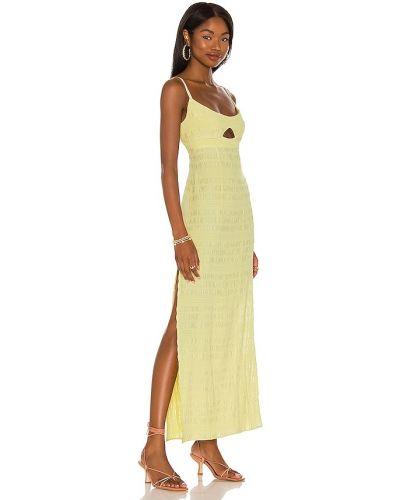 Sukienka casual - żółta Lpa
