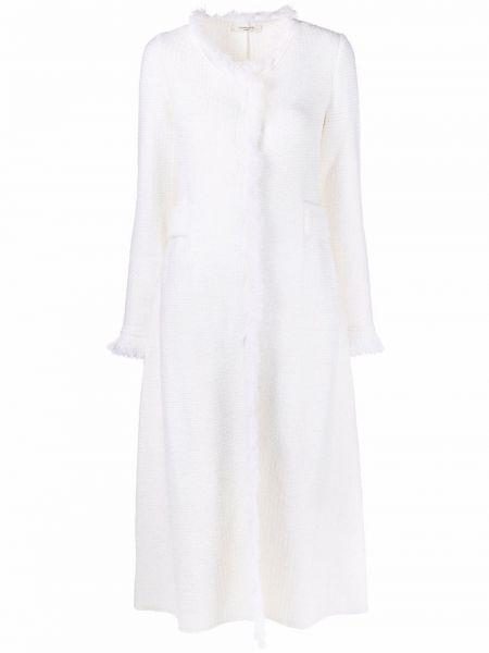 Шерстяное пальто - белое Charlott