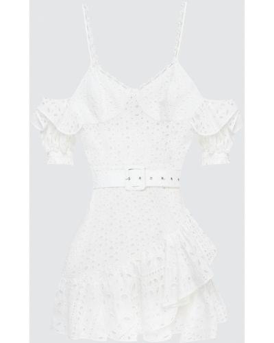 Платье миди - белое Charo Ruiz