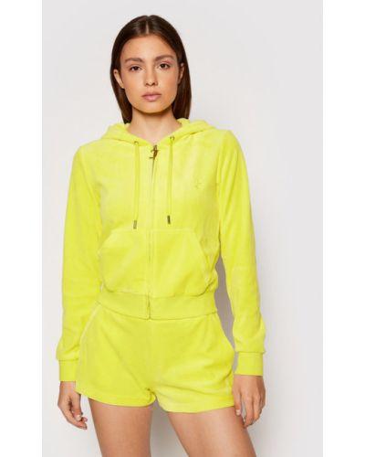 Żółty dres Juicy Couture