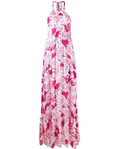Платье без рукавов - белое Love Moschino