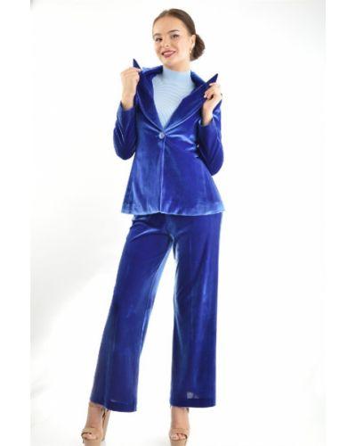 Синий пиджак приталенный Bgn