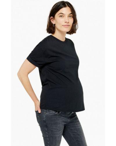 Поло черное Topshop Maternity
