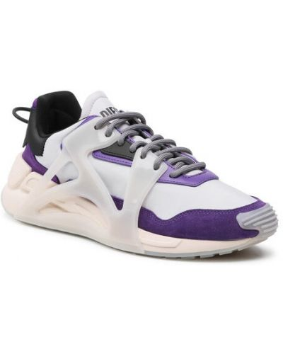 Szare sneakersy Diesel