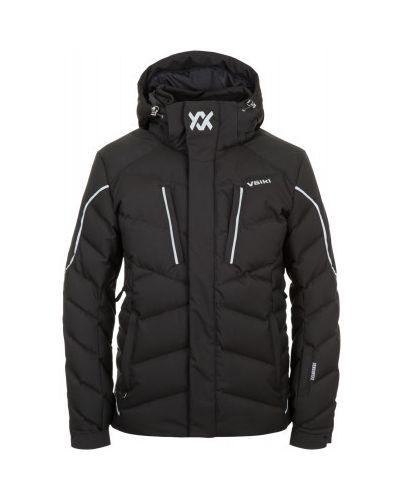 Куртка с капюшоном черная спортивная VÖlkl