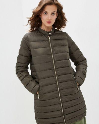 Зеленая теплая куртка Befree