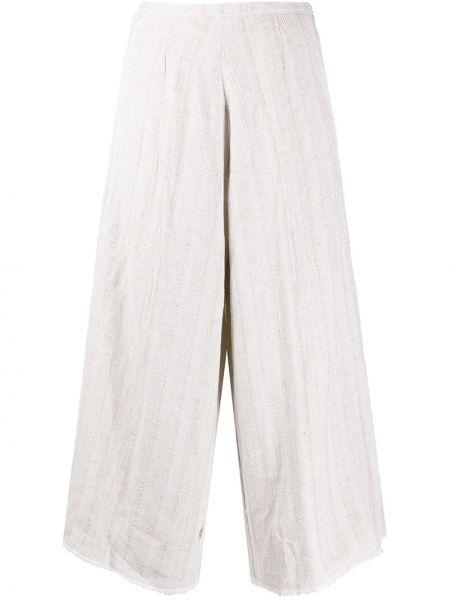 Укороченные брюки с завышенной талией свободные Forte Forte