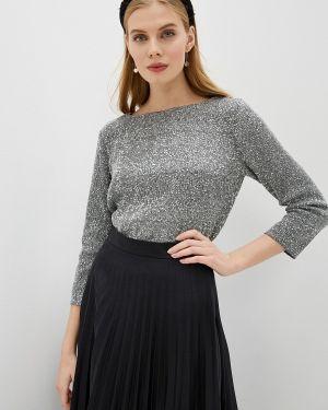Серебряная блузка Zarina