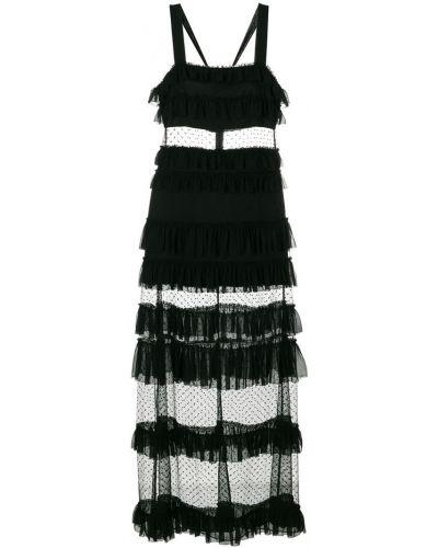 Платье с квадратным вырезом с вырезом Alexis