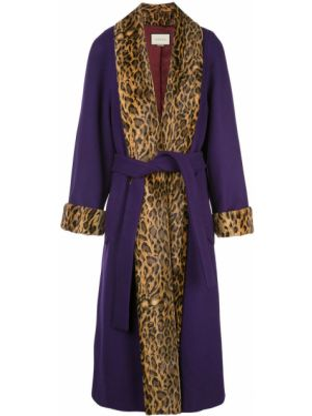 Płaszcz wełniany z kieszeniami Gucci