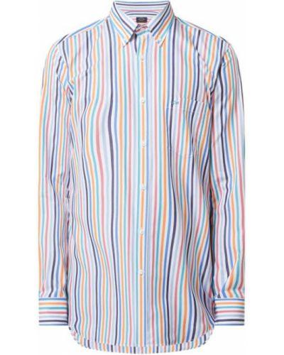 Koszula bawełniana w paski z długimi rękawami Paul & Shark