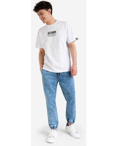 Свободные джинсы с карманами свободного кроя Gloria Jeans