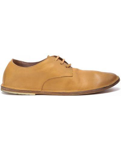 Кожаные туфли закрытые круглые Marsèll