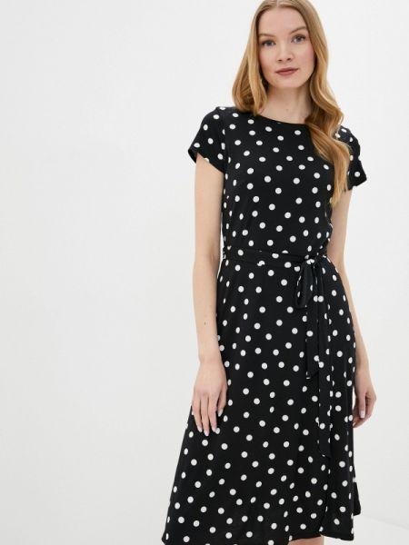 Черное повседневное платье Wallis