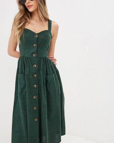 Сарафан зеленый Zarina