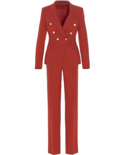 Czerwony garnitur Tagliatore