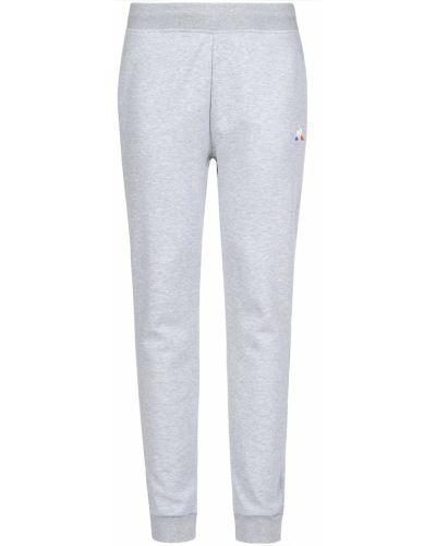 Спортивные брюки из полиэстера - серые Le Coq Sportif