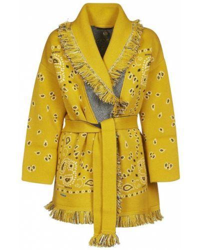 Żółty sweter Alanui