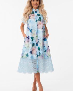 Платье на пуговицах платье-сарафан Wisell
