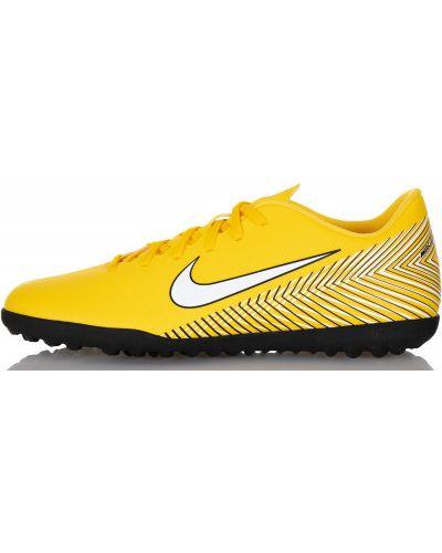 Желтые бутсы футбольные Nike