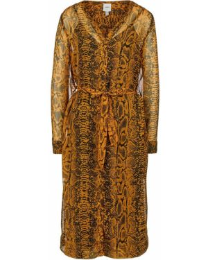 Платье платье-рубашка с принтом Ichi
