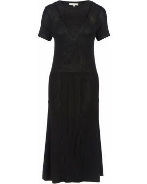 Платье черное расклешенное Miss Sixty