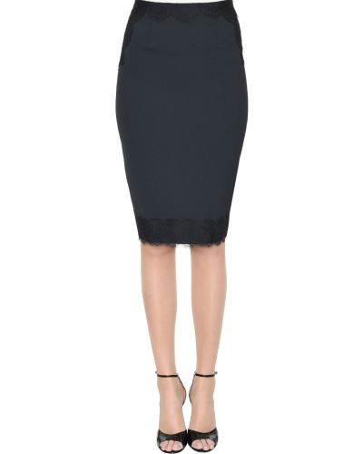 Черная юбка Elisabetta Franchi