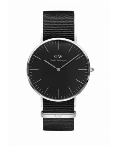 Черные часы Daniel Wellington