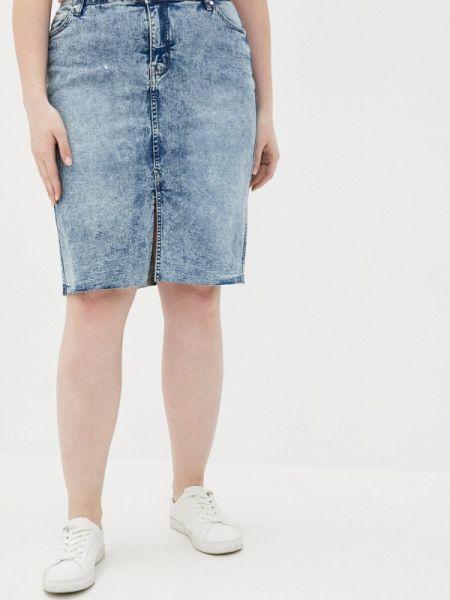 Джинсовая юбка весенняя Zizzi
