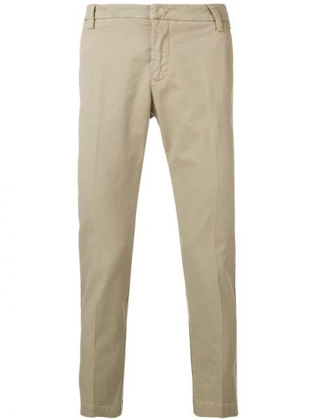 Хлопковые брюки с поясом на крючках Entre Amis
