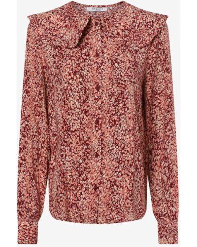 Czerwona bluzka Moss Copenhagen