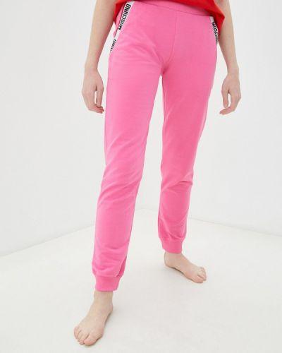 Брюки - розовые Moschino Underwear
