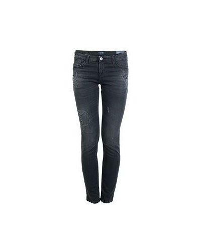 Серые джинсы-скинни Armani Jeans