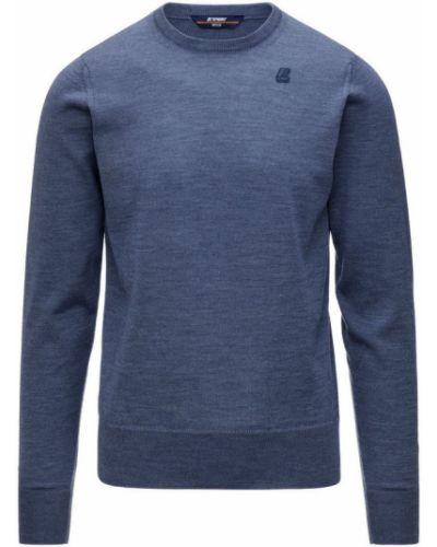 Niebieski sweter K-way