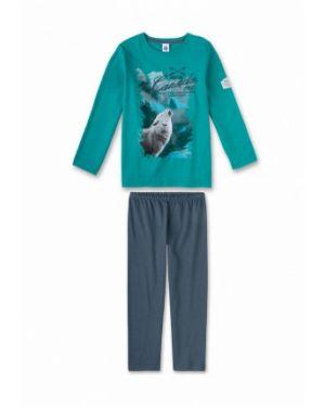 Зеленая пижамная пижама Sanetta