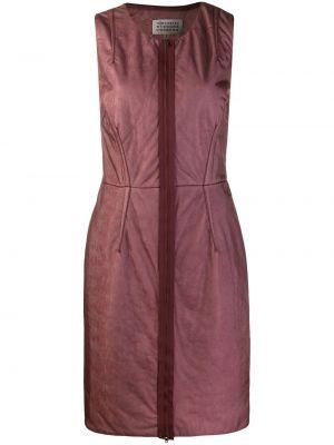 Прямое приталенное платье мини винтажное без рукавов Maison Martin Margiela Pre-owned