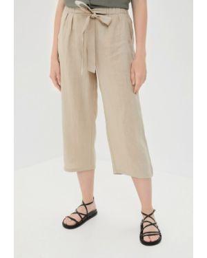 Бежевые брюки с воротником Betty Barclay