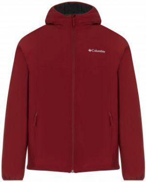 Прямая нейлоновая утепленная куртка на молнии с карманами Columbia