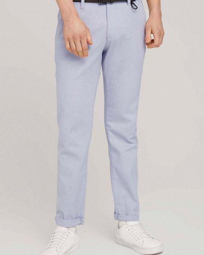 Повседневные синие брюки Tom Tailor Denim