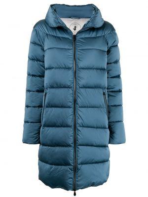 Длинная куртка - синяя Save The Duck