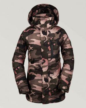 Камуфляжная куртка - бежевая Volcom