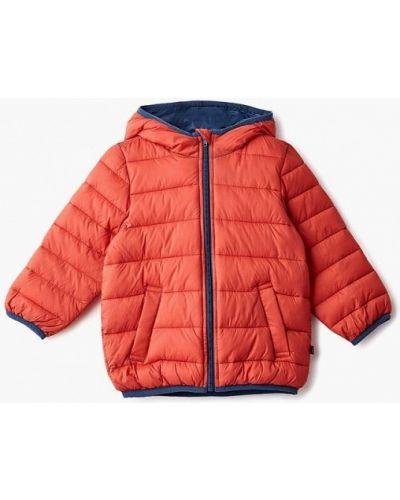 Оранжевая куртка теплая United Colors Of Benetton