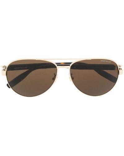Очки авиаторы солнцезащитные Montblanc